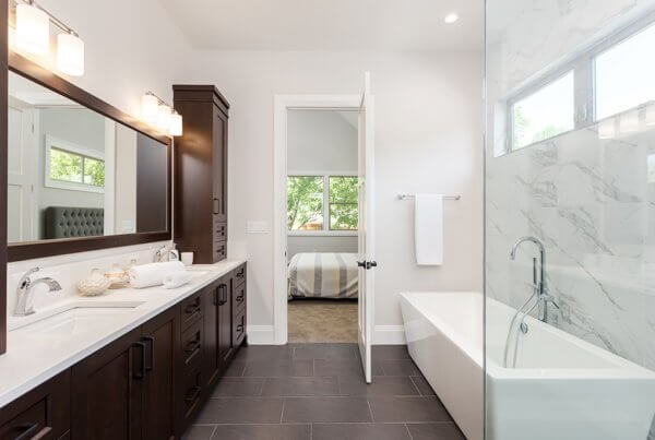 Remodeling a Small Bathroom to Feel Big