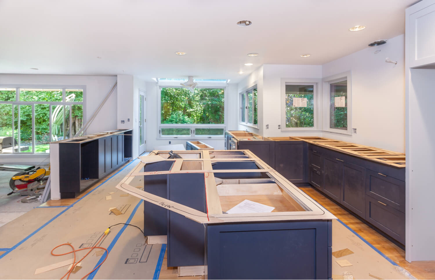 Professional kitchen remodeling Professional contractors